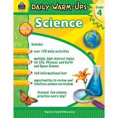 TEACHER CREATED RESOURCES DAILY WARM UPS SCIENCE GR 4