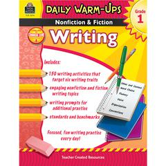 DAILY WARM UPS GR 1 NONFICTION & FICTION WRITING BOOK