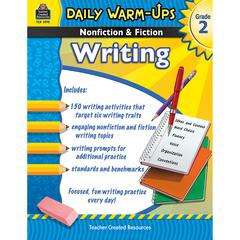 TEACHER CREATED RESOURCES DAILY WARM UPS GR 2 NONFICTION & FICTION WRITING BOOK