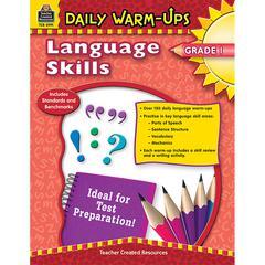 DAILY WARM UPS LANGUAGE SKILLS GR 1