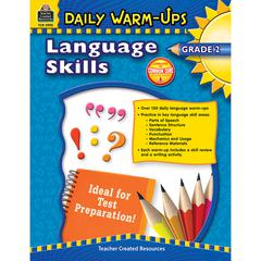 DAILY WARM UPS LANGUAGE SKILLS GR 2