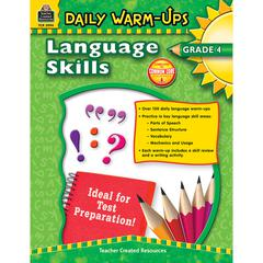 TEACHER CREATED RESOURCES DAILY WARM UPS LANGUAGE SKILLS GR 4