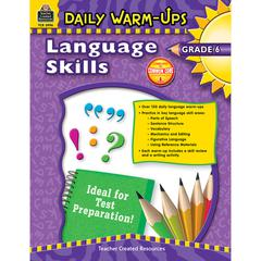 TEACHER CREATED RESOURCES DAILY WARM UPS LANGUAGE SKILLS GR 6