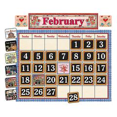 TEACHER CREATED RESOURCES SCHOOL TIME CALENDAR BB SET