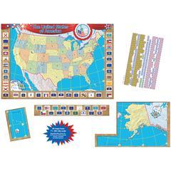 TEACHER CREATED RESOURCES US MAP BB SET 36X24
