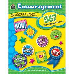 TEACHER CREATED RESOURCES ENCOURAGEMENT STICKER BOOK