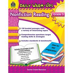 TEACHER CREATED RESOURCES DAILY WARM UPS GR 5 NONFICTION READING