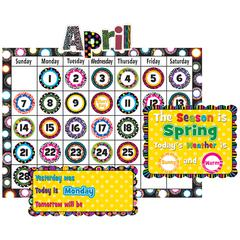 TEACHER CREATED RESOURCES FANCY CIRCLES CALENDAR BB SET