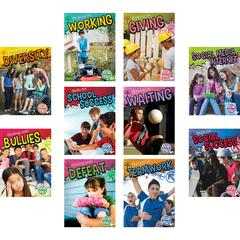 TEACHER CREATED RESOURCES SOCIAL SKILLS BOOKS SET OF ALL 10