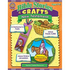 TEACHER CREATED RESOURCES BIBLE STORIES & CRAFTS NEW TESTAMENT