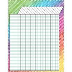 COLORFUL SCRIBBLE INCENTIVE CHART