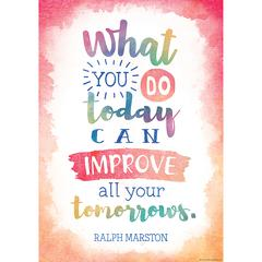 What You Do Today Can Improve All, Your Tomorrows Chart