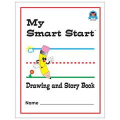 Teacher Created Resources Grades 1-2 Drawing/Story Book - White Paper - 1Each