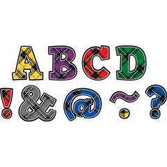 PLAID BOLD BLOCK 2IN MAGNETIC LETTERS