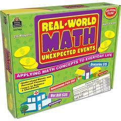 REAL WORLD MATH UNEXPECTED EVENTS GAME