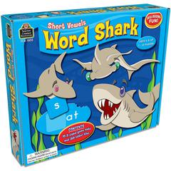 TEACHER CREATED RESOURCES WORD SHARK SHORT VOWELS GAME