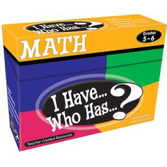 I HAVE WHO HAS MATH GR 5-6