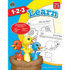 1 2 3 LEARN AGE 2-3