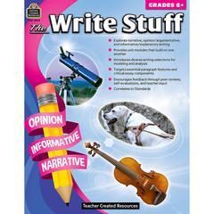 THE WRITE STUFF GRADE 6+