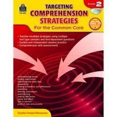TEACHER CREATED RESOURCES GR 2 TARGETING COMPREHENSION STRATEGIES FOR THE COMMON CORE