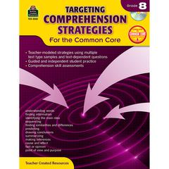 TEACHER CREATED RESOURCES GR 8 TARGETING COMPREHENSION STRATEGIES FOR THE COMMON CORE