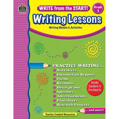 TEACHER CREATED RESOURCES WRITE FROM THE START GR 3 WRITING LESSON