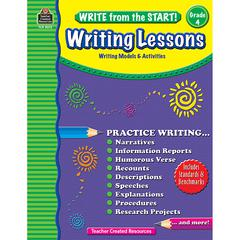 TEACHER CREATED RESOURCES WRITE FROM THE START GR 4 WRITING LESSON
