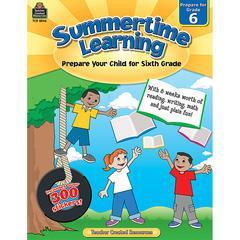 SUMMERTIME LEARNING GR 6