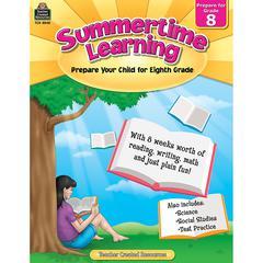 SUMMERTIME LEARNING GR 8