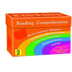 TEACHER CREATED RESOURCES FICTION READING COMPREHENSION CARDS GR 2
