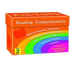 FICTION READING COMPREHENSION CARDS GR 2