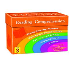 TEACHER CREATED RESOURCES FICTION READING COMPREHENSION CARDS GR 3