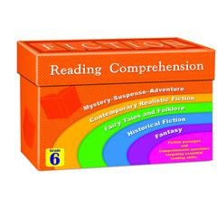FICTION READING COMPREHENSION CARDS GR 6