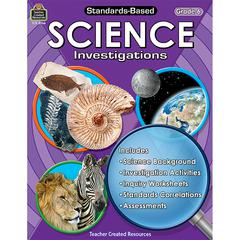 TEACHER CREATED RESOURCES STANDARD BASED GR 6 SCIENCE INVESTIGATION