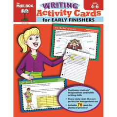 EARLY FINISH WRITING GR 4-6 ACTIVITY CARDS