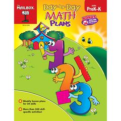 DAY BY DAY MATH PLANS GR PK-K