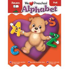 WE HEART PRESCHOOL - ALPHABET