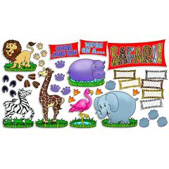 SCHOLASTIC TEACHING RESOURCES SAFARI ANIMALS BB SET