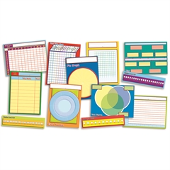 SCHOLASTIC TEACHING RESOURCES GRAPHS CHARTS & MORE INSTRUCTIONAL BB SET