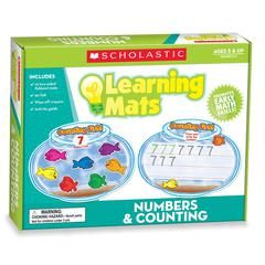 SCHOLASTIC TEACHING RESOURCES NUMBERS & COUNTING LEARNING MATS
