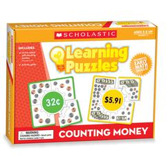 SCHOLASTIC TEACHING RESOURCES COUNTING MONEY BOXED KITS - PUZZLES