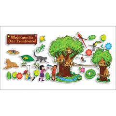 SCHOLASTIC TEACHING RESOURCES JUNGLE TREEHOUSE BBS