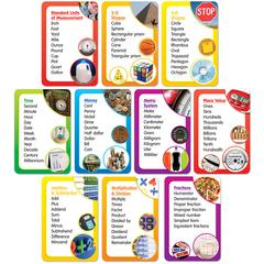 SCHOLASTIC TEACHING RESOURCES MATH WORD BANKS BB SET