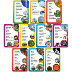 SCHOLASTIC TEACHING RESOURCES SCIENCE WORD BANKS BB SET