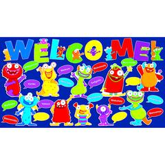 SCHOLASTIC TEACHING RESOURCES MONSTERS WELCOME BB SET