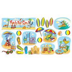 SCHOLASTIC TEACHING RESOURCES FUN IN THE SUN BB SET