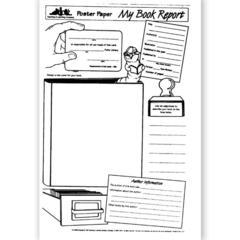 LORENZ / MILLIKEN POSTER PAPER MY BOOK REPORT 30PKG
