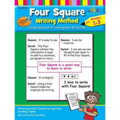 FOUR SQUARE WRITING METHOD GR 1-3 WITH CD