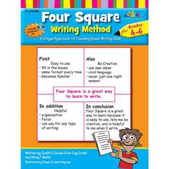 FOUR SQUARE WRITING METHOD GR 4-6 WITH CD