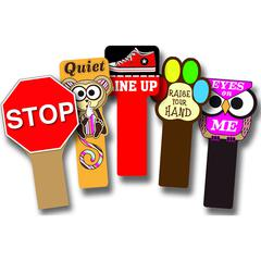 TOP NOTCH TEACHER PRODUCTS HANDY SIGNS SET OF ALL 5